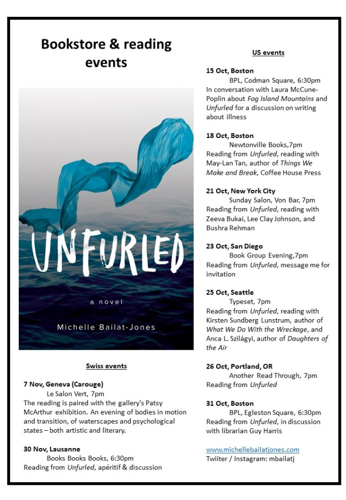 Unfurled Events flyer